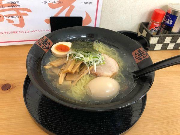 「塩 煮卵ラーメン  700円」@麺や 壽光の写真