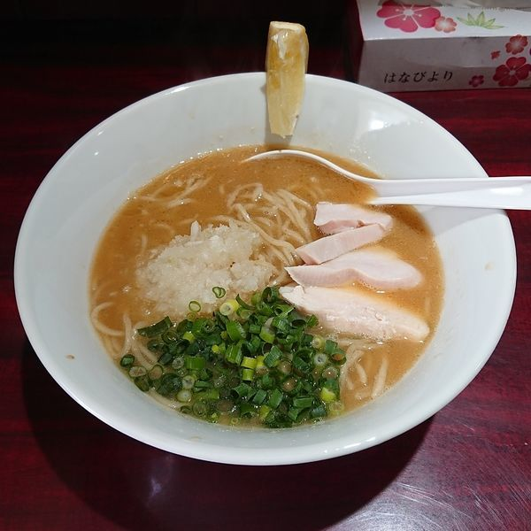 「鶏白湯soba 醤油  @800円」@麺屋はじめの写真