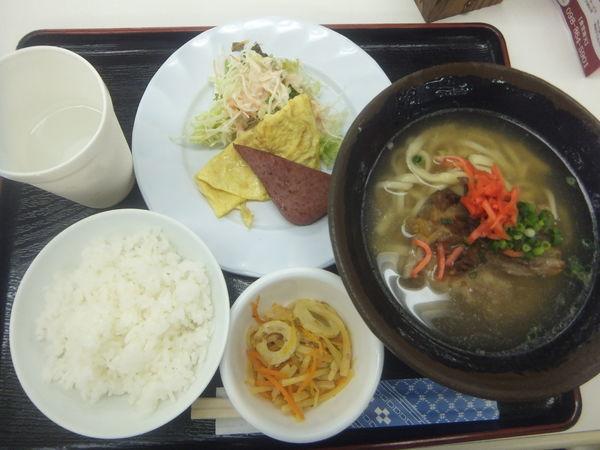「定食C500円(南天そば)」@南天の写真