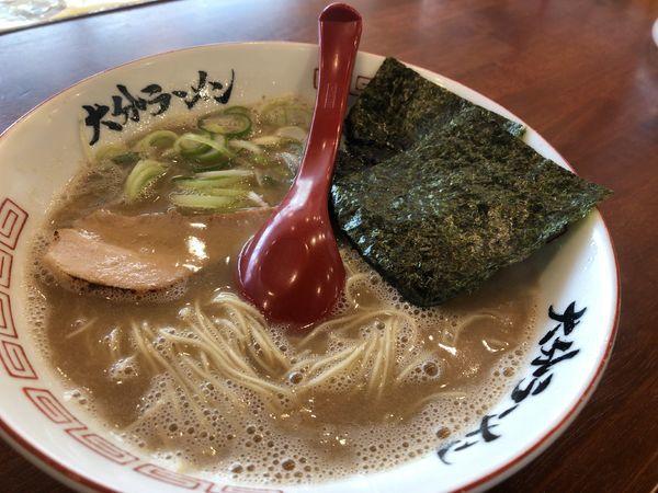 「ラーメン 580円」@おめでたいの写真