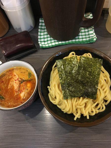 「辛つけ麺 大盛り」@めん屋 桔梗 阿佐ヶ谷店の写真
