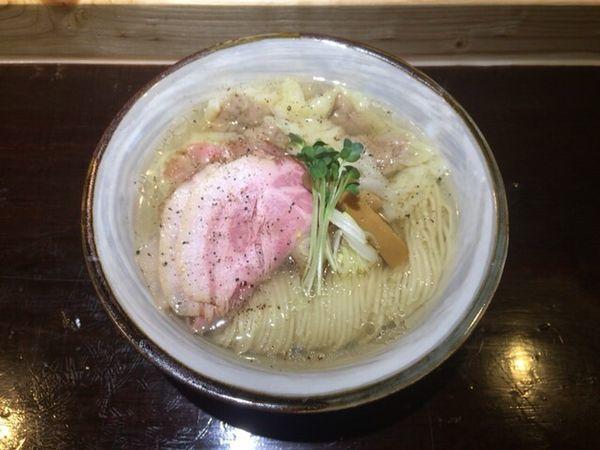 「塩ワンタンチャーシュー麺」@麺屋 坂本01の写真