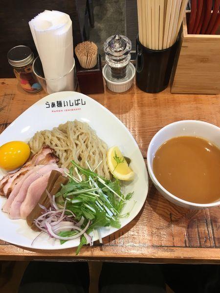 「全部のせ鷄白湯つけ麺」@らぁ麺 いしばしの写真