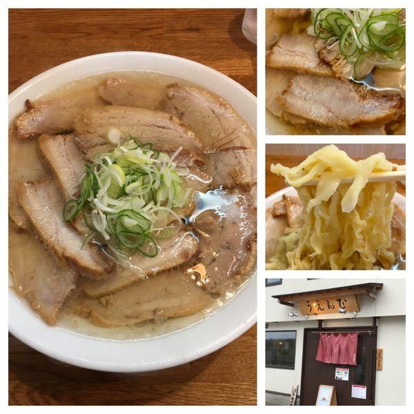 「会津山塩チャーシューメン 1,030円」@うえんで食堂の写真