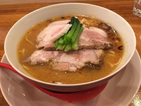 「味噌らぁ麺」@味六屋の写真