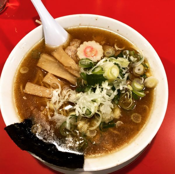 「煮干し中華そば」@末廣ラーメン本舗 仙台駅前分店の写真