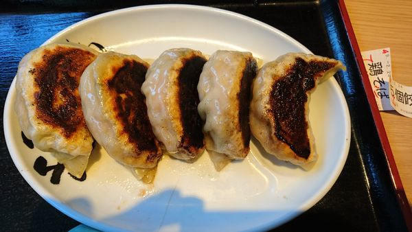 「心の味餃子5個630円」@松戸富田製麺 ららぽーとTOKYO-BAY店の写真
