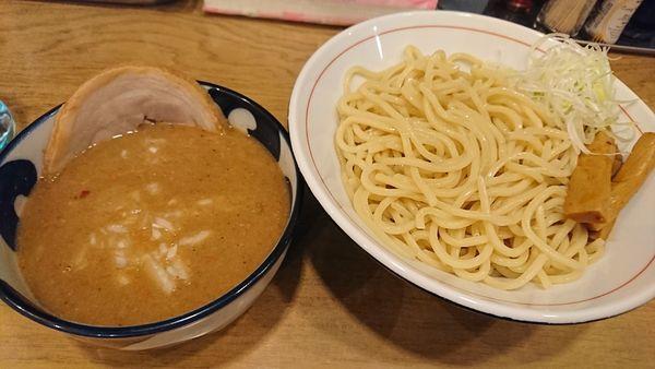 「みそつけめん(エビ)850円」@麺処 慶の写真