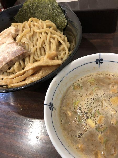 「肉つけ麺」@麺屋 亀城の写真