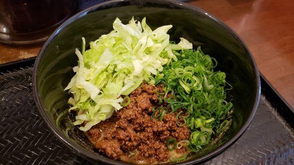 「汁なし担々麺+白ご飯900円」@広島式 汁無し担担麺 湯島ひよこ堂の写真