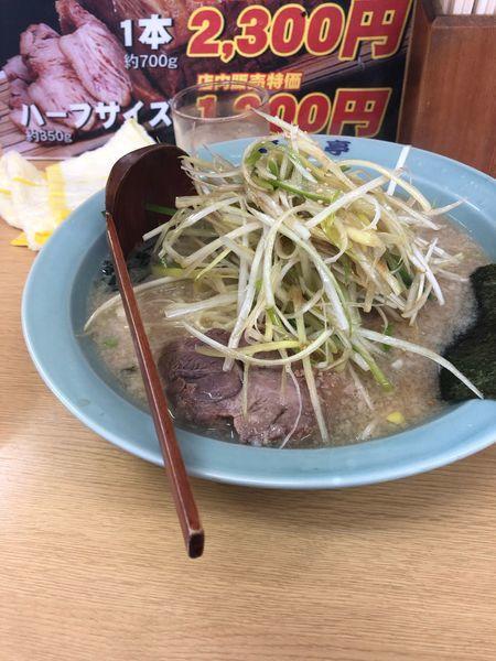 「ネギラーメン醤油 700円」@ラーメン青木亭 越谷店の写真