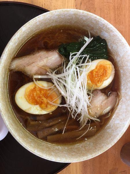 「味玉ラーメン 醤油」@和風ラーメン 味のほうさくの写真
