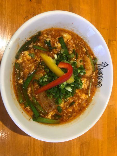 「鶏玉麺」@HONOOの写真