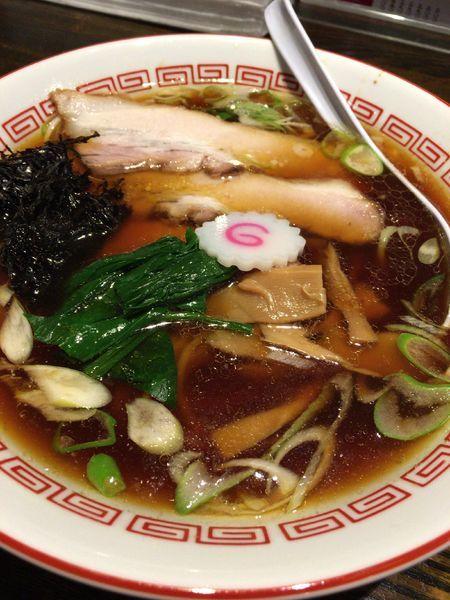 「らぁめん 750円」@新潟長岡らぁめん 安ざわ食堂の写真