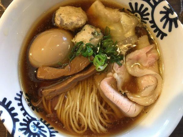 「特級醤油そば 1000円」@特級鶏蕎麦 龍介の写真
