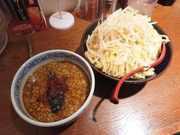 「濃厚魚介味噌つけ麺(大)」@つけ麺専門店 三田製麺所 渋谷道玄坂店の写真