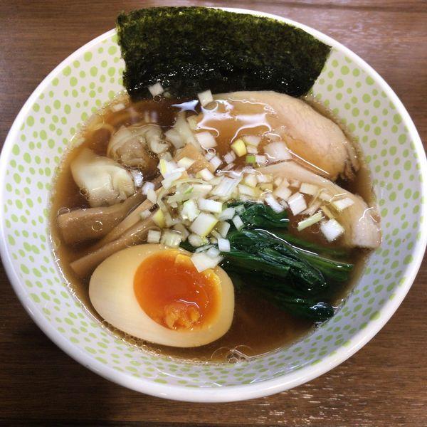 「N麺(醤油)680円」@らー麺 Nの写真