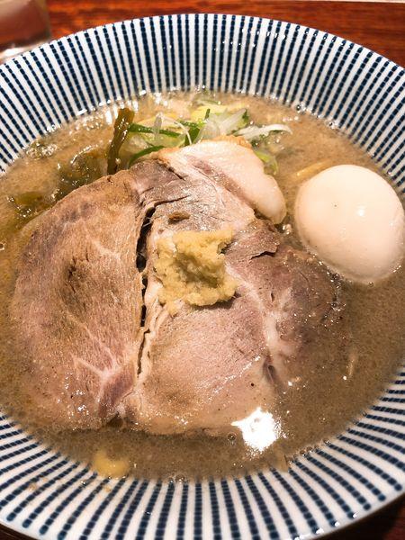 「味玉味噌 ¥900」@灼味噌らーめん 八堂八の写真