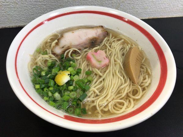 「塩らーめん」@自家製麺SHINの写真