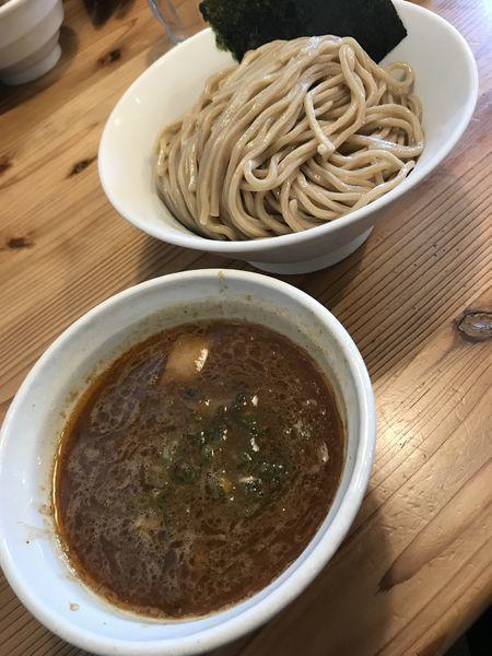 「海老つけ麺(780円)+大盛り(100円)」@らーめん いつ樹 本店の写真