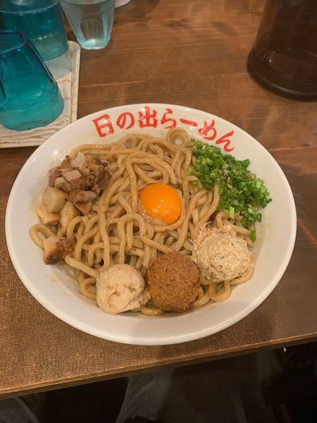 「ガッツ麺DX+大盛」@日の出らーめん 四日市店の写真