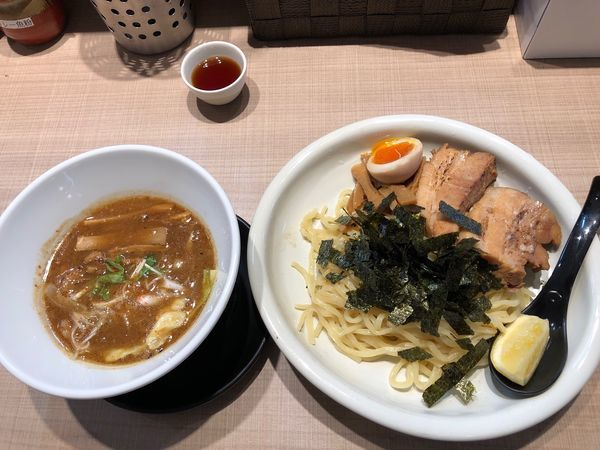 「GaGaNa特製つけ麺(中盛)」@GaGana RAMENの写真