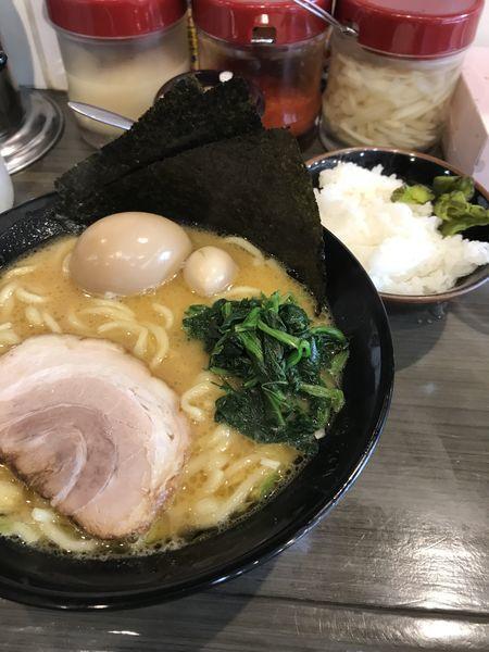 「味玉ラーメン」@駒大商店の写真