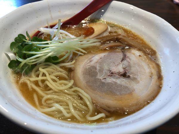 「海老鶏白湯ラーメン 800円」@麺処GAKUの写真