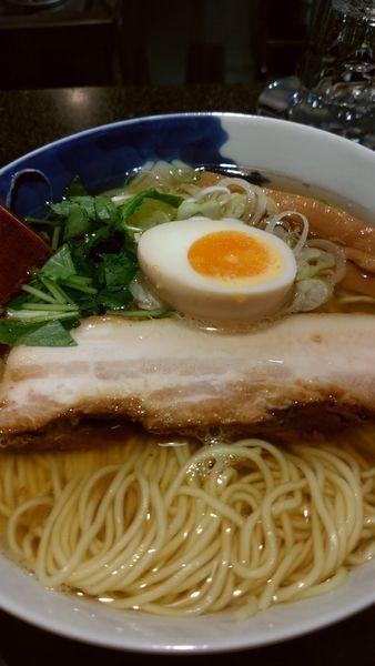 「和風柳麺」@麺屋ひょっとこ 銀座店の写真