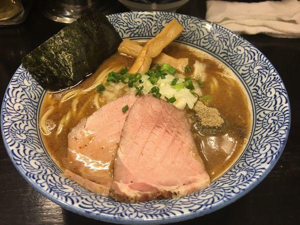 「煮干しラーメン」@つけ麺 凌駕の写真