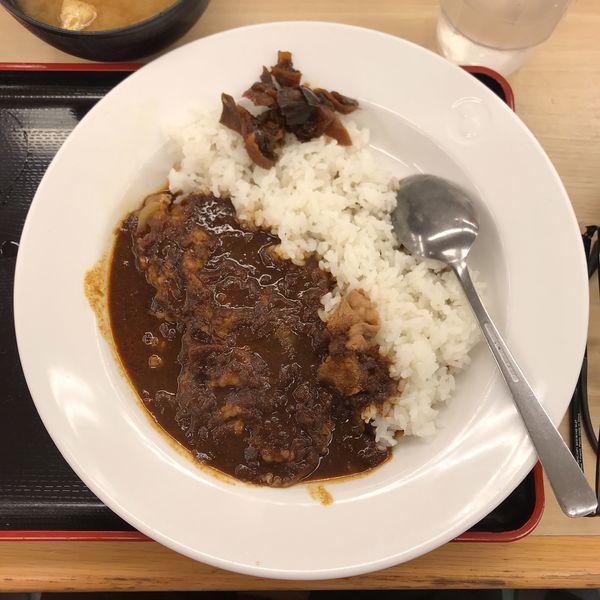 「ビーフカレー 並盛」@松屋 池袋サンシャイン通り店の写真