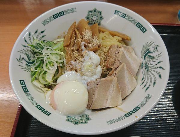 「汁なしラーメン(570円)」@来来軒 浦和西口店の写真