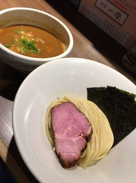 「伊勢海老つけ麺 900円」@つけ麺 一燈の写真