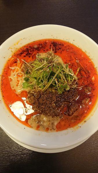「担々麺」@四川担担麺 阿吽 湯島店の写真