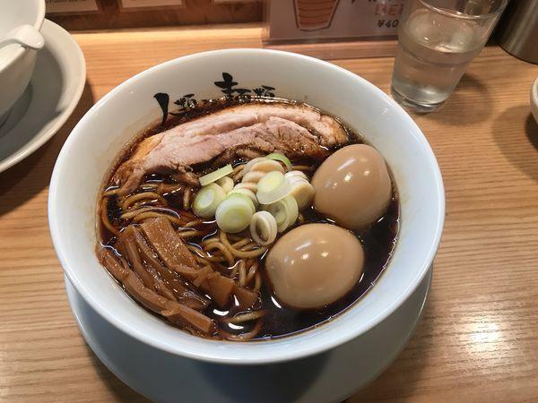 「micro 薄薄+煮玉子」@人類みな麺類の写真