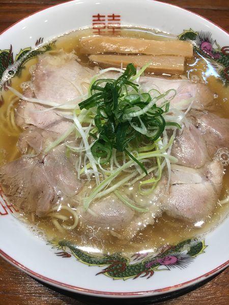 「煮干しラーメン¥730」@味噌麺処 マメビシオの写真