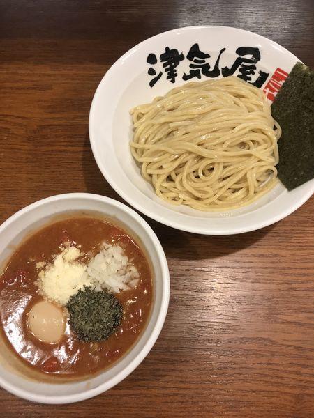 「味玉トマトつけ麺」@つけ麺津気屋 武蔵浦和の写真
