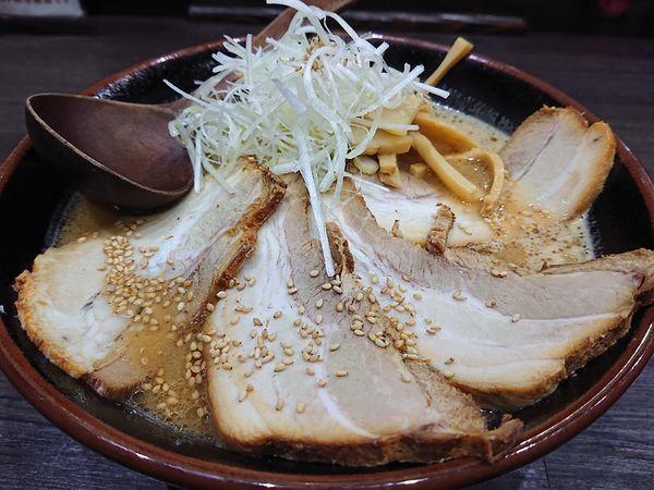 「チャーシューめん味噌(大盛り)」@札幌麺や 鬼てつの写真
