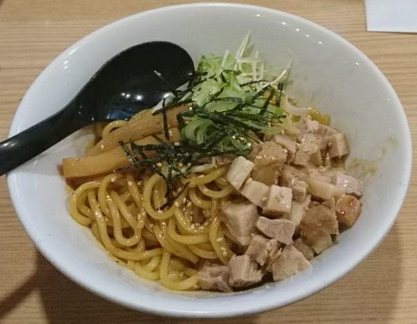 「油そば」@らーめん つけ麺 春樹 王子店の写真