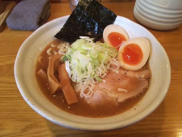 「味玉らぁ麺」@麺道 GENTENの写真