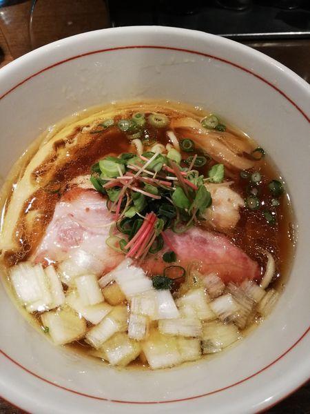 「虎徹そば(醤油味)」@麺や 虎徹の写真