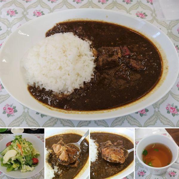 「ポークカレーAセット 1300円」@気ままなキッチン パスカレッソの写真