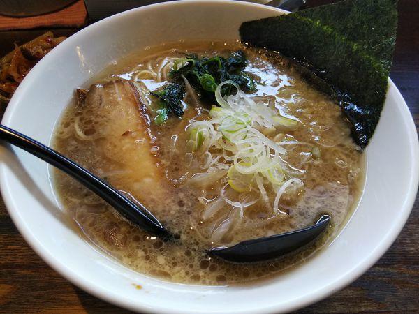 「醤油 ※細麺」@信州麺屋 とんずらの写真