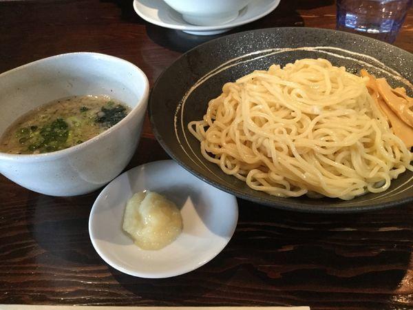 「塩つけ麺830円」@つけめん・らあめん 宗庵 北千住店の写真