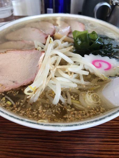 「塩チャーシュー麺大盛り」@手打ちラーメン みうらの写真