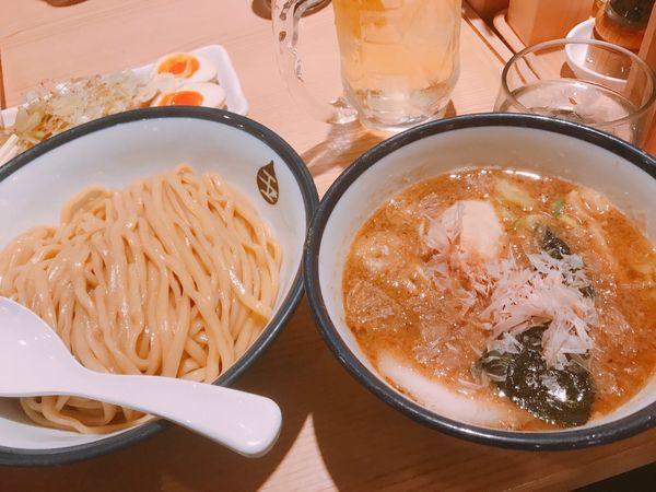 「味玉つけ麺」@つけめん玉 品達店の写真
