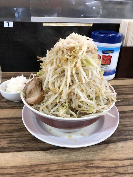 「ラーメン(中)¥730」@ダントツラーメン 高松一番店の写真
