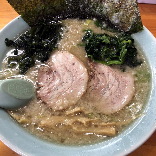 「正油ラーメン(半麺)650円」@ラーメンショップ 足利50号店の写真