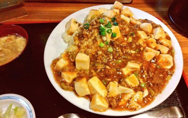 「麻婆豆腐チャーハン」@和香佐の写真