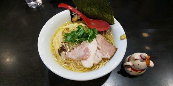 「鶏白醤油麺」@超純水採麺 天国屋の写真